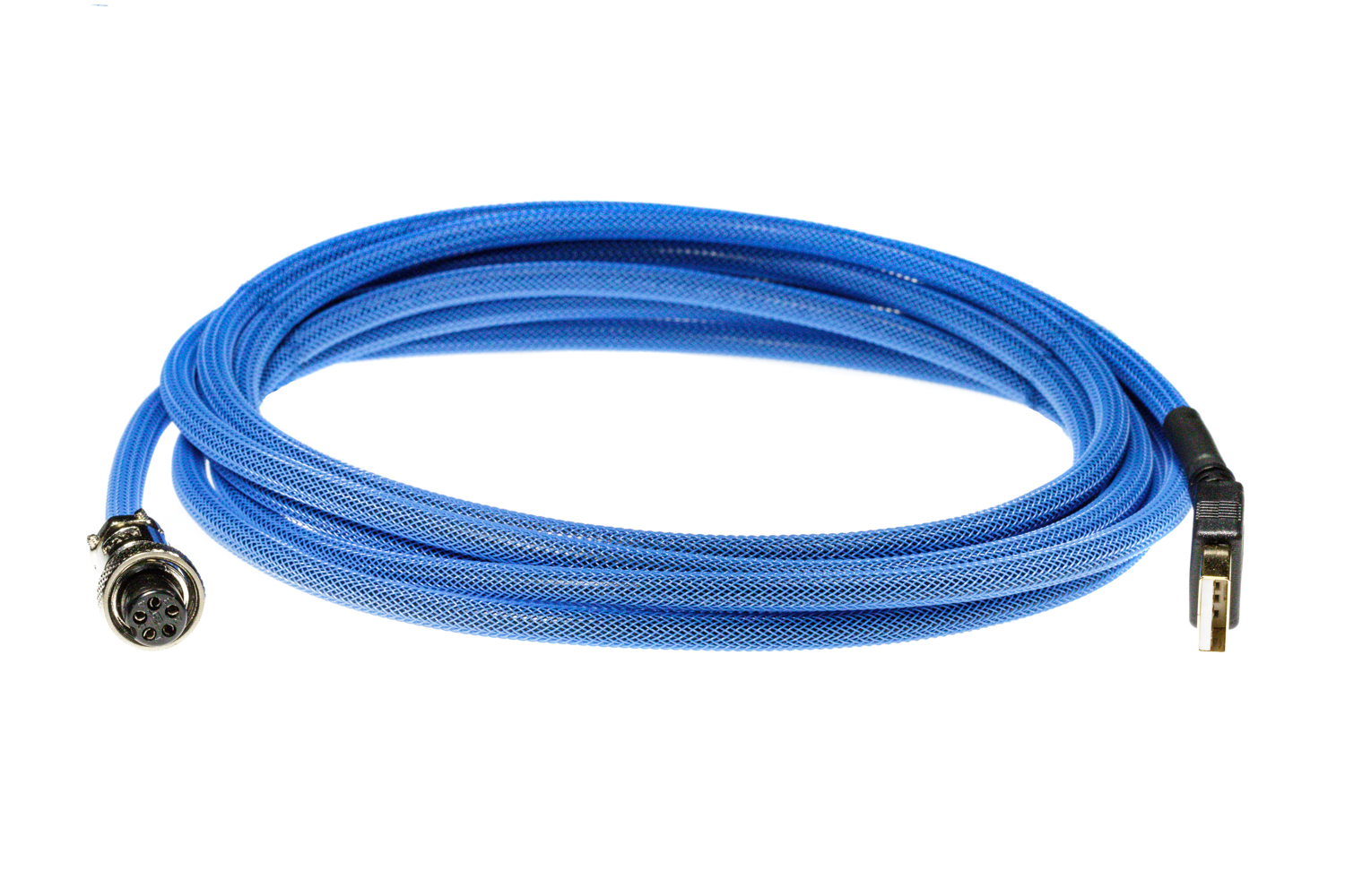 Pro Cable with Blue TechFlex USB Cable