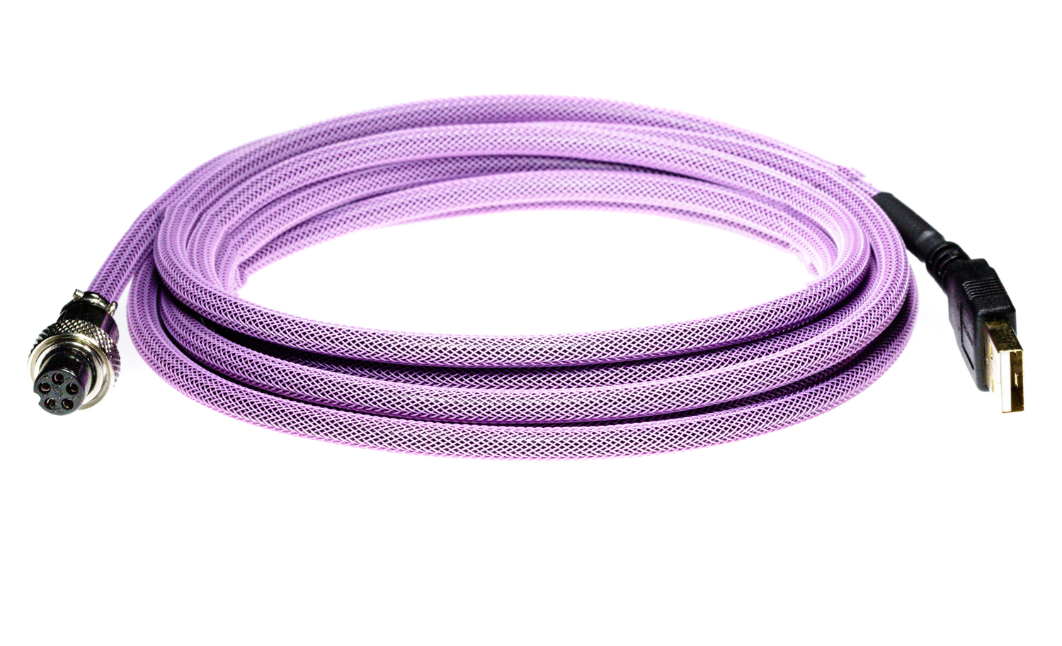 Pro Cable with Purple TechFlex USB Cable
