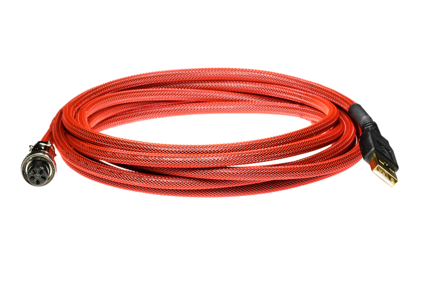 Pro Cable with Red TechFlex USB Cable